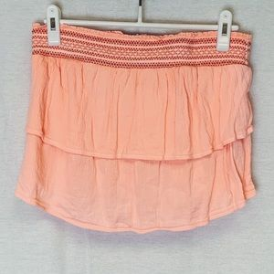 Aerie Neon Peach Tube Top